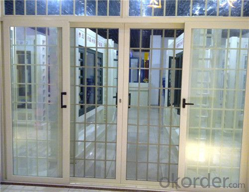 Different Design Sliding door with aluminum profile and glass