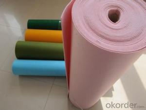 Azo Free Eco Friendly Nonwoven wool felt nonwoven felt fabric