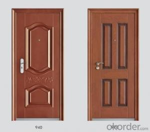 Steel Security Doors with Various of Designs from China