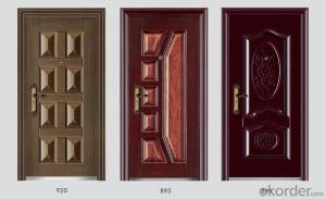 Standard Steel Security Doors with Good Prices and Quality