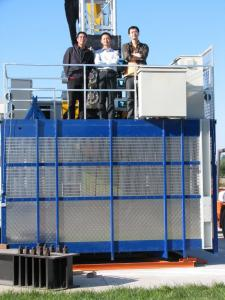 0-96m/min SC120G building material elevator