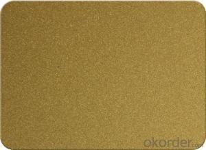 coated aluminum composite panel /acm /acp