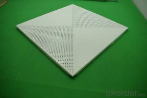 Clip in Square Aluminum Ceiling Board- aluminum ceiling
