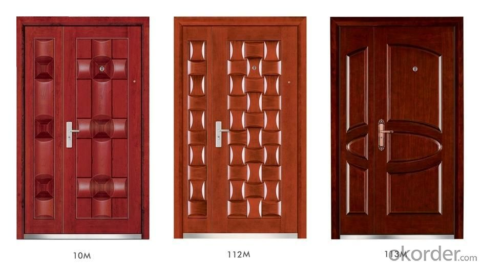 Steel Wooden Armored Doors for Buildings