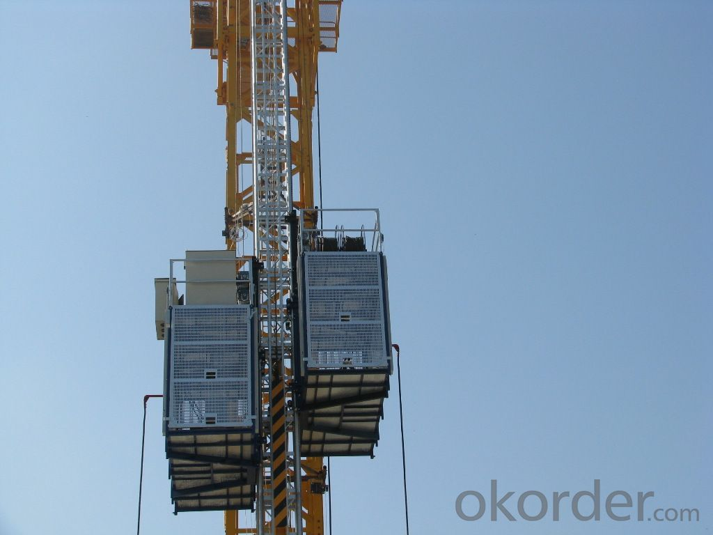 1200kgs normal construction elevator SC120