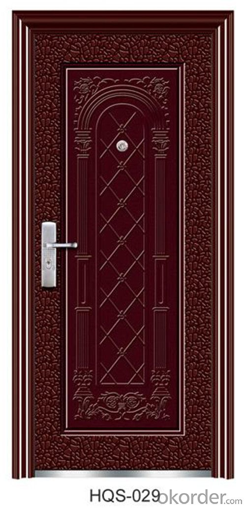 security steel door with new design and different colors