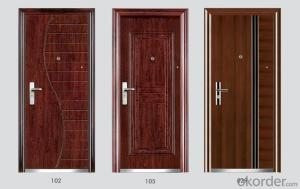 Steel Security Doors in Standard Sizes for Houses