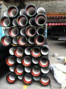 DUCTILE  IRON PIPES  AND PIPE FITTINGS K9 CLASS DN400
