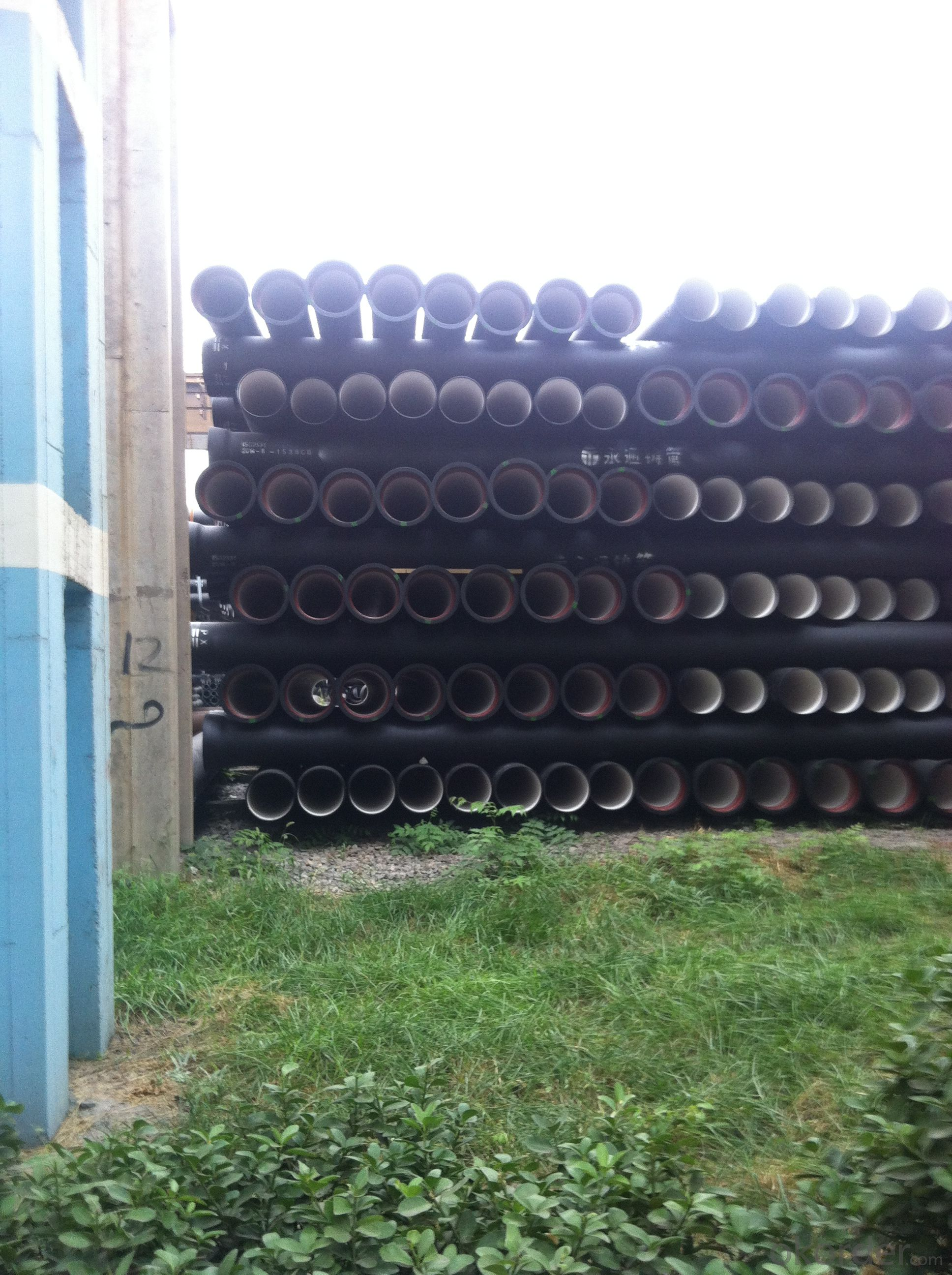 DUCTILE  IRON PIPES  AND PIPE FITTINGS K9 CLASS DN300
