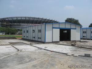 Prefabricated House Sandwich Panel Steel Structure Warehouse