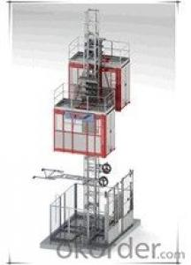 0-96m/min SC100G hoist for construction