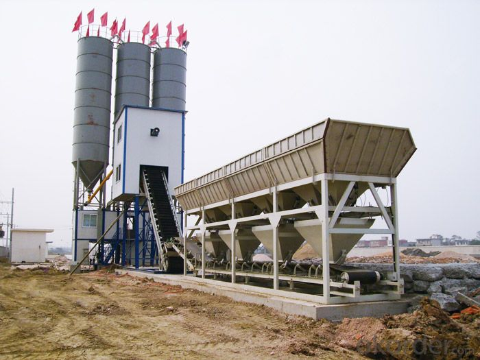 Module Type Mobile Concrete Batching Plant