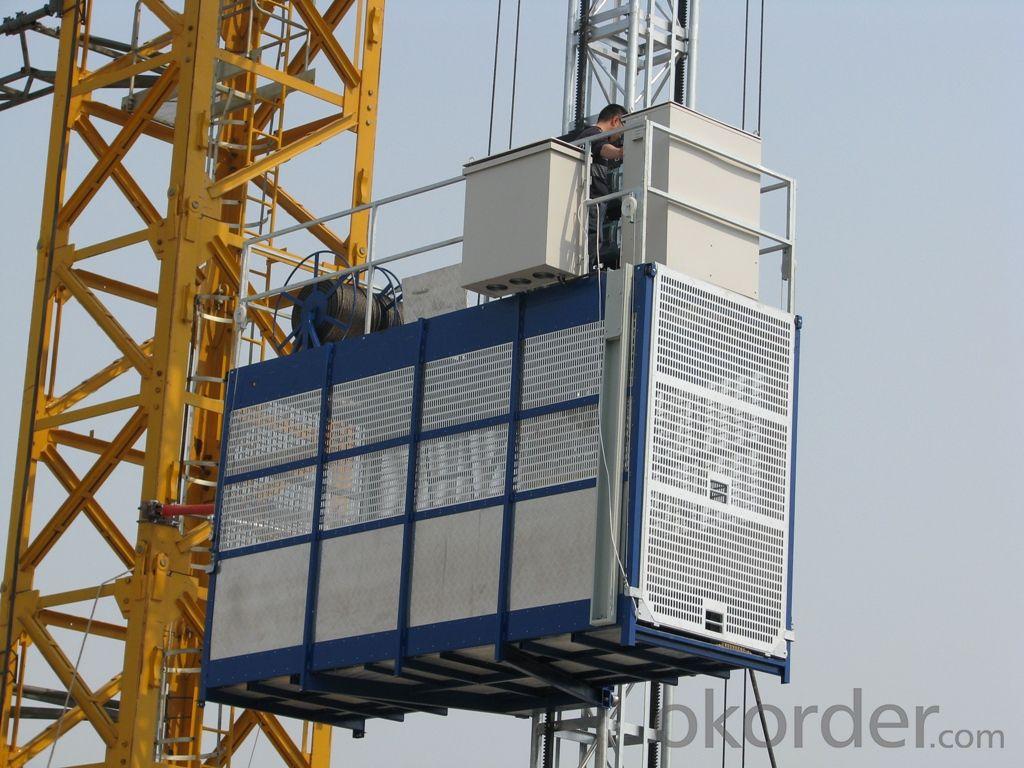 0-63m/min construcion lifting equipment hoisting SC120