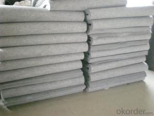 High quality needle punched nonwoven 100% merino wool felt