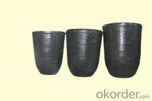 High Al2O3 Alumina Cup-Shaped Cylindrical Alumina Crucible