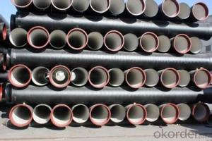 DUCTILE  IRON PIPES  AND PIPE FITTINGS k9 CLASS DN80
