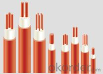 Silicone Rubber Insulation Heat Resisting power cable