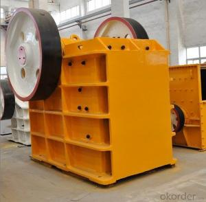 Zhongmei brand PE Series Jaw Crusher for mining