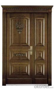 Standard Steel Wooden Armored Doors with Good Prices