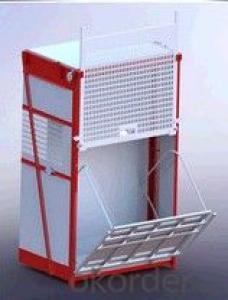 0-63m/min SC150G building construction material lift