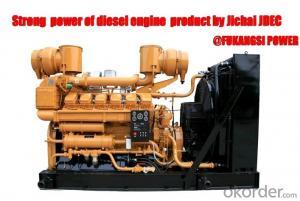 800-1800KW China JDEC Generator desiel FKS-500