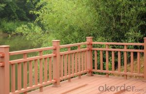 Wood Plastic Composite Railing for swimming pool