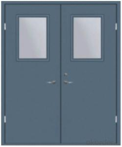 colorful steel security anti fire door