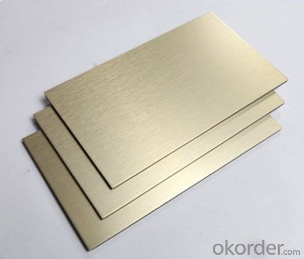 Colorful PE/PVDF Aluminum cladding Good Quality