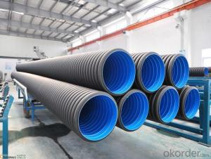 HDPE PIPE PE100 PE80 CNBM MANUFACTURER ISO4277