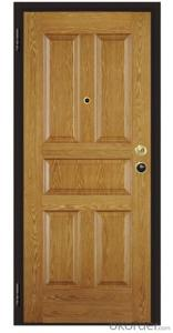 Italy Style Steel Wooden Armored Doors with Good Prices