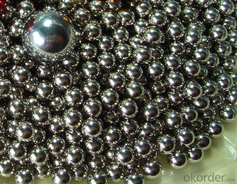 BEST QUALITY OF CHROME STEEL BALL WITH LOW PRICE