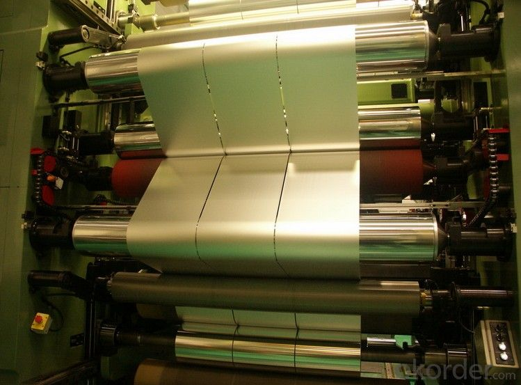 Plain Aluminium Foil Jumbo Roll For Flexible Packaging
