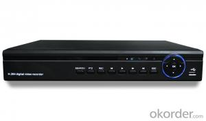4CH 960H Real Time H.264 DVR H4804BW with HDMI