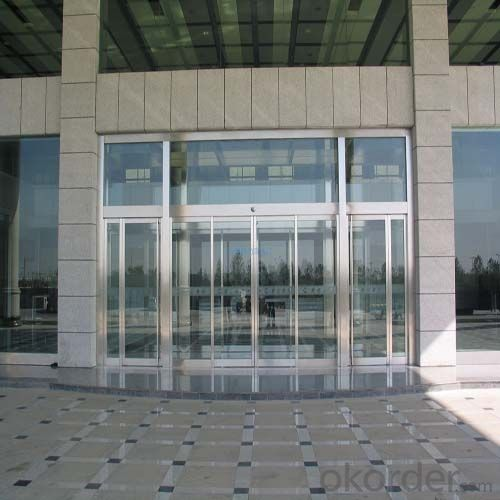 Automatic Door Aluminium Frame for Interior Decoration