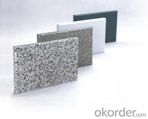 Good Qquality Coated Exterior Wall Aluminum Cladding