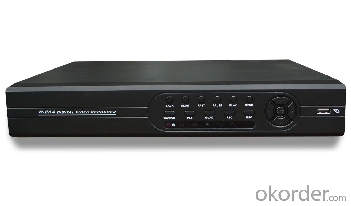 4CH 960H Real Time H.264 DVR H4804BR with All Basic Functions
