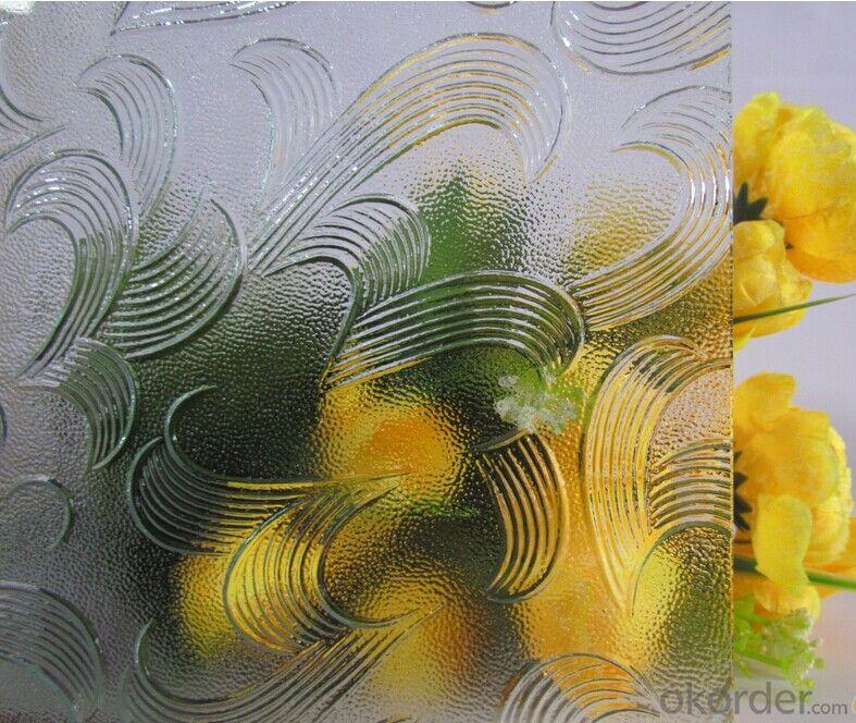 Temperable grade -clear pattern glass- Mayflower