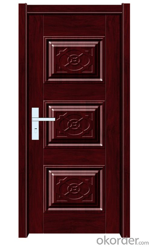 popular colorful Exterior steel security door