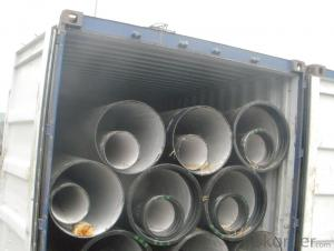 T Type Ductile Iron Pipe K CLASS DN1600 socket spigot pipe