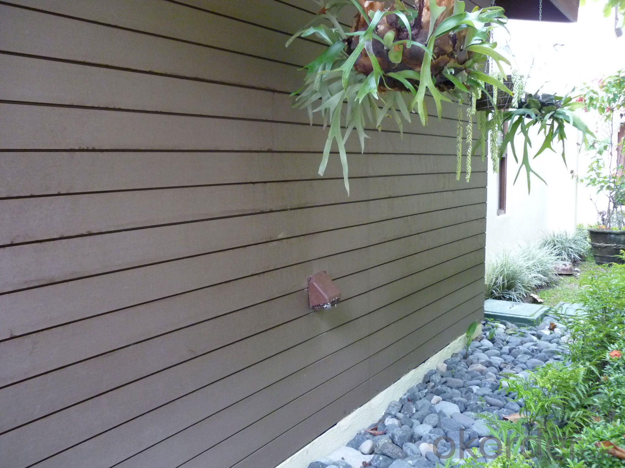 Wood Plastic Composite Cladding for wall