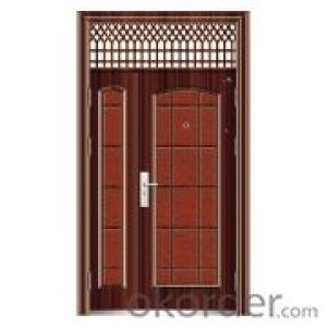 Metal Steel Security Door for Interior Decoration Use
