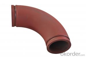 Twin Wall Elbow for Concrete Pump R275 90DGR