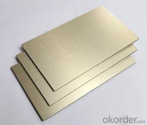 PE/PVDF Coating aluminium cladding sheet prices