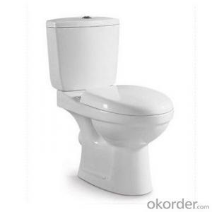 cheap good quality washdown two-piece bathroom toilet