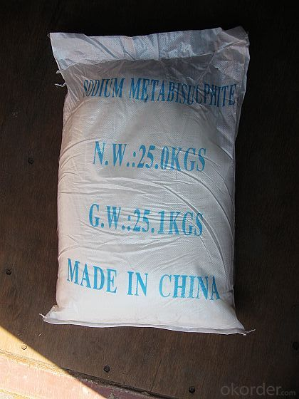 INDUSTRY GRADE SODIUM METABISULFITE  97.2%
