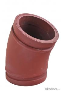 Twin Wall Elbow for Concrete Pump R275 36DGR
