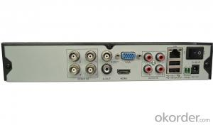 4CH ONVIF 2.0 960H H.264 DVR H3804BK with All Basic Functions
