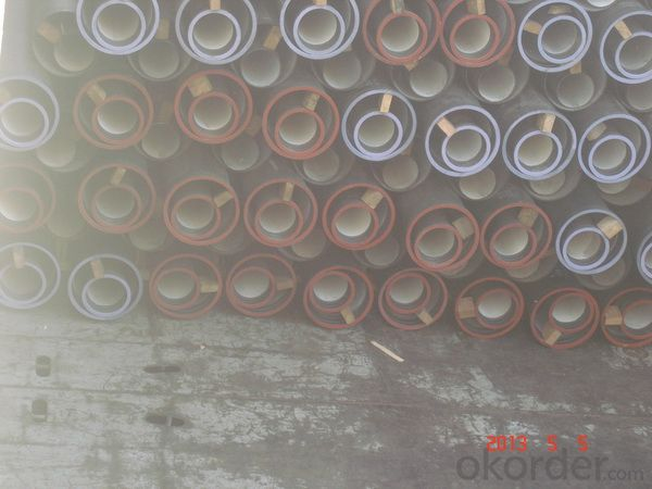 DUCTILE  IRON PIPES  AND PIPE FITTINGS C CLASS DN800