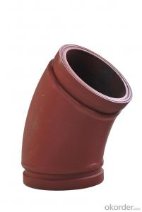 Twin Wall Elbow for Concrete Pump R275 45DGR