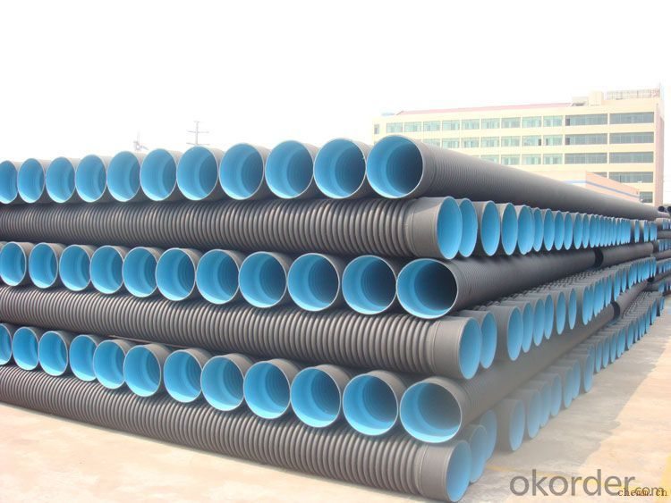 ISO4277 HDPE PLASTIC PIPE CNBM MANUFACTURER